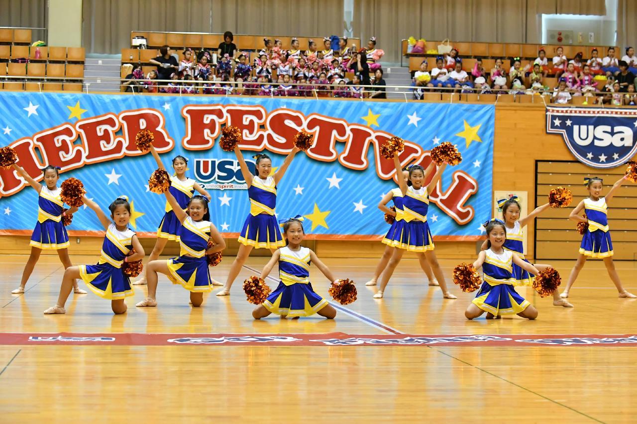 チアフェスティバル usaチアリーディング ダンスフェスティバル九州2018